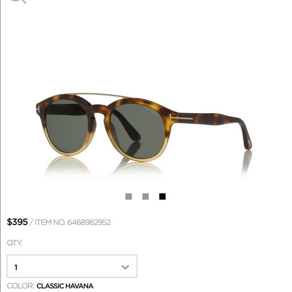 937c503bfd Tom Ford Newman Sunglasses. M 5aa1e6978290af3a030022f7
